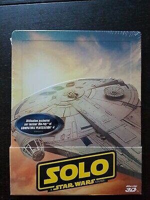 Solo A Star Wars Story Steelbook Blu Ray 3d 2d Sous Blister