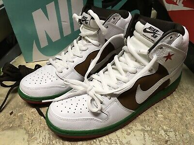 buy online a42ec f4001 Used Mens Nike Dunk High Premium Sb White Pecan Cali California 313171 201  Sz 13