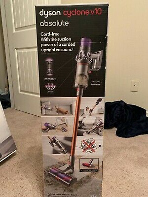 Brand New! Dyson Cyclone V10 Absolute Sv12 Cordless Stick Vacuum - Free Shipping