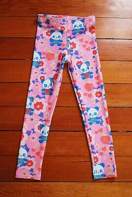 NWT Girls Leggings Size 6, Panda print
