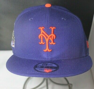 cheap for discount ba543 3289e New Era 9Fifty Snapback Mets Subway Series Side Patch