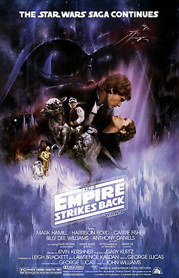 STAR WARS V: THE EMPIRE STRIKES BACK Theatrical Poster (A2)