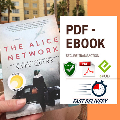 The Alice Network🤯😱By 🤩Kate Quinn🔥NEW🔥⚡️EB00K-PDF⚡️