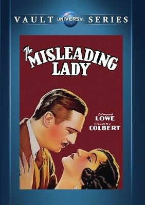 The Misleading Lady 1932 (DVD) Claudette Colbert, Edmund Lowe, Stuart Erwin New!