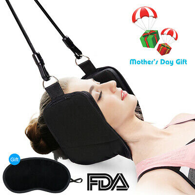 Neck Hammock For Head, Neck Pain Relief Home Portable Cervical Traction Device