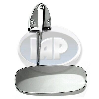 Rear View Mirror Chrome Fits VW Bug Oval Window 1953-1957 # CPR113857511