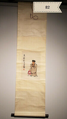 Qi Baishi figures Antique Scroll