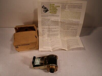 WARNER ELECTRIC PSI DIVISION 405-10-005 CLUTCH BRAKE 1975? SA-500 Rotation Contr