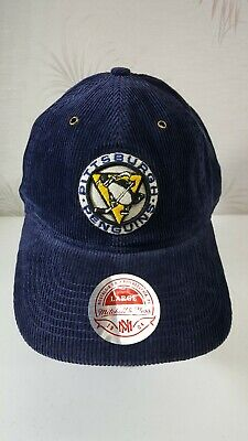 separation shoes 40498 f7038 NHL Pittsburgh Penguins Mitchell   Ness Vintage Look Corduroy Fitted Hat -  Large