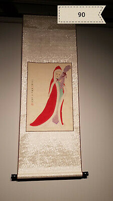 Xue Ying figures Antique Scroll