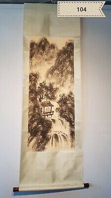Fu Baoshi landscape Antique Scroll