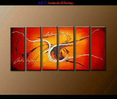 Framed Contemporary Art Wall Modern Abstract Oil Painting Handpainted on Canvas
