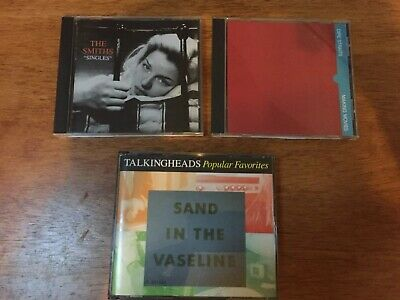 Talking Heads Dire Straits The Smiths Rock Music Hits CD Lot Of 4 Discs