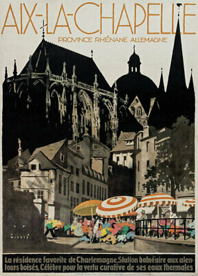 TRAVEL TOURISM GERMANY BERLIN LARGE POSTER ART PRINT BB2848A