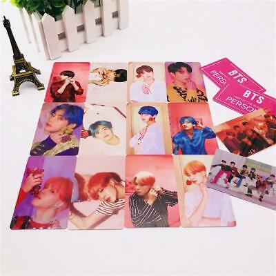 Kpop BTS Map of The Soul: Persona PVC Photo Cards JIMIN SUGA V Photocards Poster