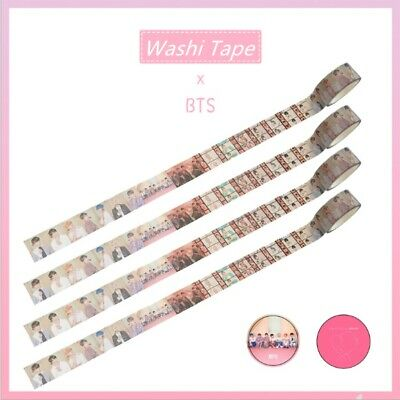 Kpop BTS Washi Tape Map of The Soul: Persona Paper Masking Suga V DIY Stickers