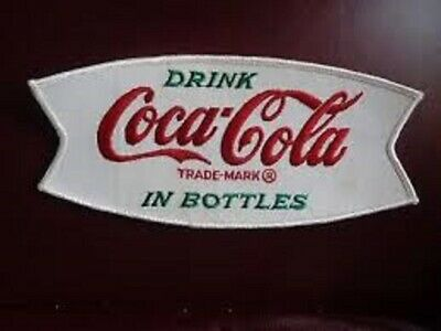 Coca Cola Coke Soda Bottle Pepsi Iron On Bottle Nascar Jersey Patch Embroidered