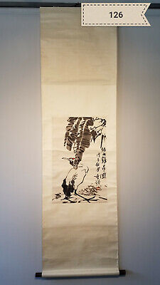 Li bitter bird Antique Scroll