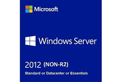 [SALE] Server 2012 Standard / Datacenter / Essentials (NON-R2) - Full Version