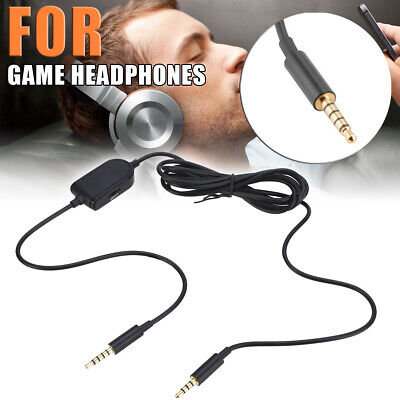 2M 3.5mm Wired Gaming Headset Replace Audio Cable Cord For Astro A10 A40 A30 A50