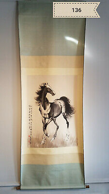 Xu Bei Hong  horse Antique Scroll