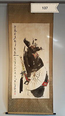 Wang Xijing Chungli Antique Scroll
