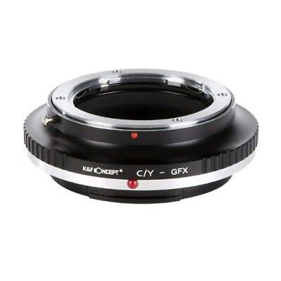 K&F Concept KF-CYG Lens Mount Adapter Yashica/Contax To Fuji GFX Japan Tracking