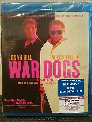War Dogs (Blu-ray + DVD + Digital HD) (Bilingual) Jonah Hill, Bradley Cooper NEW