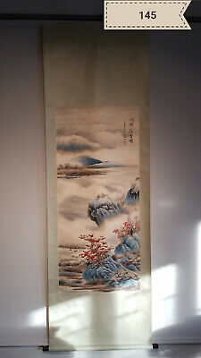 Wu Hufan landscape Antique Scroll