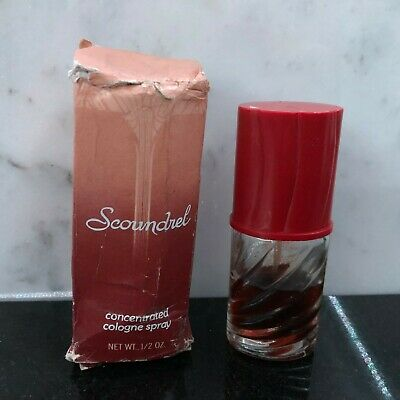 Scoundrel - Concentrated Cologne Spray by Revlon - 0.5oz - 50% Full in Box #U2