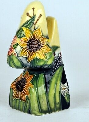 """Old Tupton Ware Porcelain Spectacle Holder """"Summer Bouquet"""" Boxed - Item 1056"""