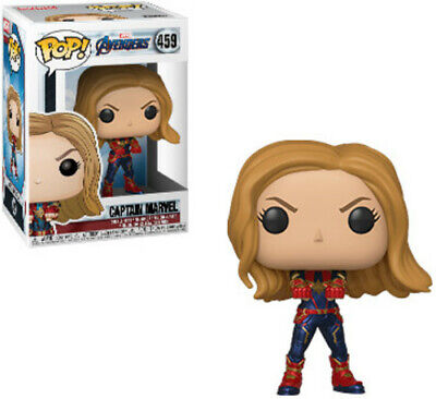 Avengers Endgame - Captain Marvel - Funko Pop! Marvel: (2019, Toy NUEVO)
