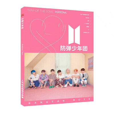 Kpop BTS Map of The Soul: Persona Photo Book Jungkook Jin HD Picture Photograph