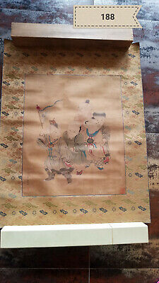 Yao Wentong Baby Play Picture Antique Painting