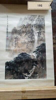 Fu Baoshi Shanshui Tablets Antique Painting