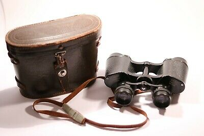 Super Zenith Field 7.5 8x30 Vintage Binoculars With Case N0.24924