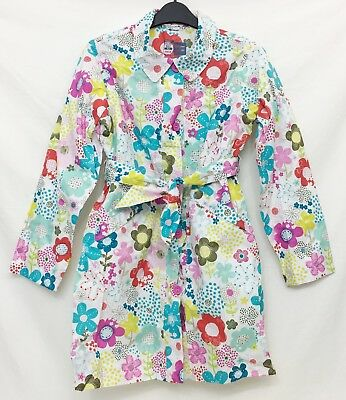Girls Multi-Coloured Floral Mac in a Pack Coat 11-12 Years PETER STORM BNWT