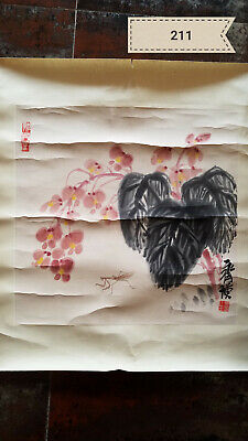 Qi Baishi grass patch Antique Painting