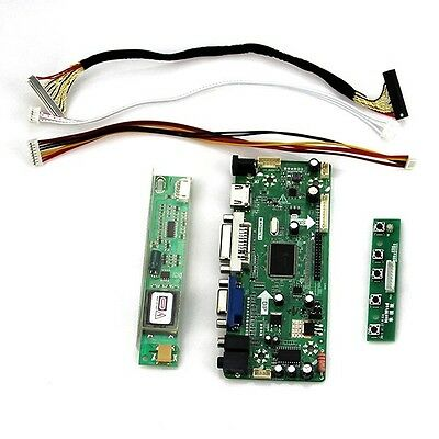 NT68676(HDMI+DVI+VGA+Audio)LCD Driver Board Monitor Kit for LP154WX4(TL)(D2)