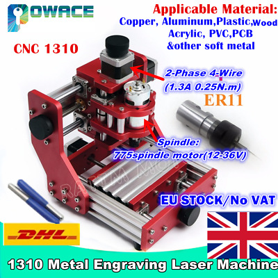 【At DE】1310 Benbox All Metal Copper Mini Desktop DIY Laser CNC Engraving Machine