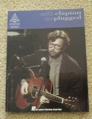 Eric Clapton Unplugged: For Easy Guitar with Notes and Tablature  Music Book