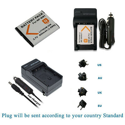 For Sony NP-BN1 Battery +Charger For Sony BC-CSN W330 W360 WX9 TX5 TX7