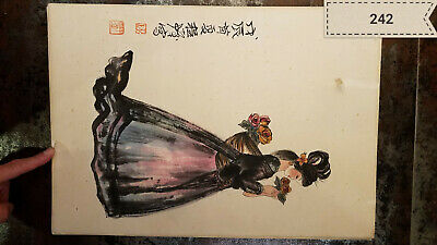 Cheng Shifa Character Album (7 Pictures) Antique Painting