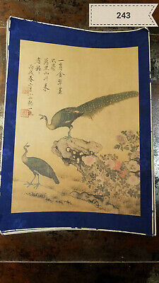 Zou Yigui Bird and Bird Album (8 Pictures) Antique Painting