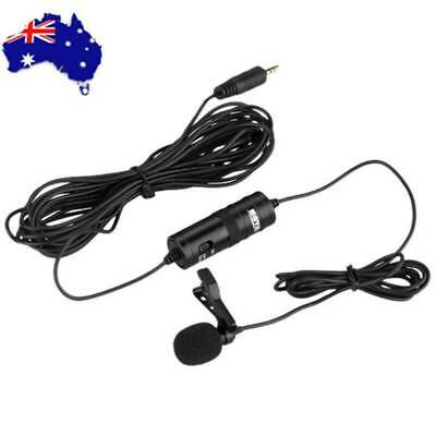 BOYA BY-M1 Lavalier Microphone For Mobile Phone DSLR Camera Camcorder PC Black