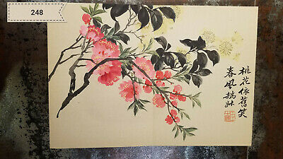 Zhao Zhiqian Flower Album (8 pictures)Antique Painting