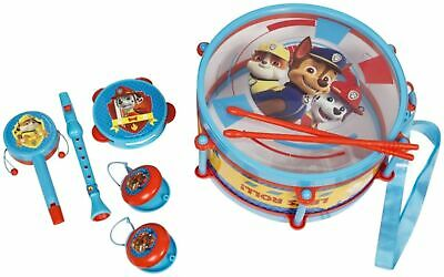Paw Patrol Musical Drum Set & Percussion Accessories