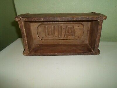 Shabby Chic Old Wooden Brick Mould-Interior Design - Upcycle Project-Display §M2