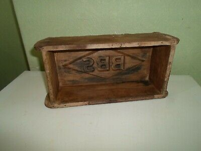 Shabby Chic Old Wooden Brick Mould-Interior Design - Upcycle Project-Display §M3
