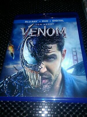 VENOM (DVD,2018)  In Stock and Ready to Ship - FAST -